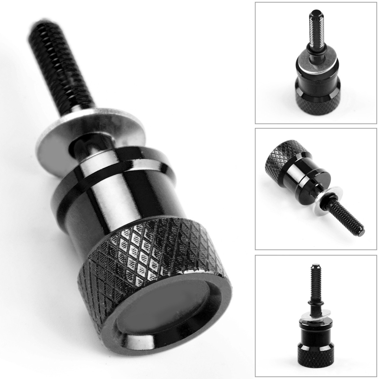 "1/4 "" -20 Rear Fender Seat Screw Bolt For BMW R NINE T PURE, nine T Scramb Black"