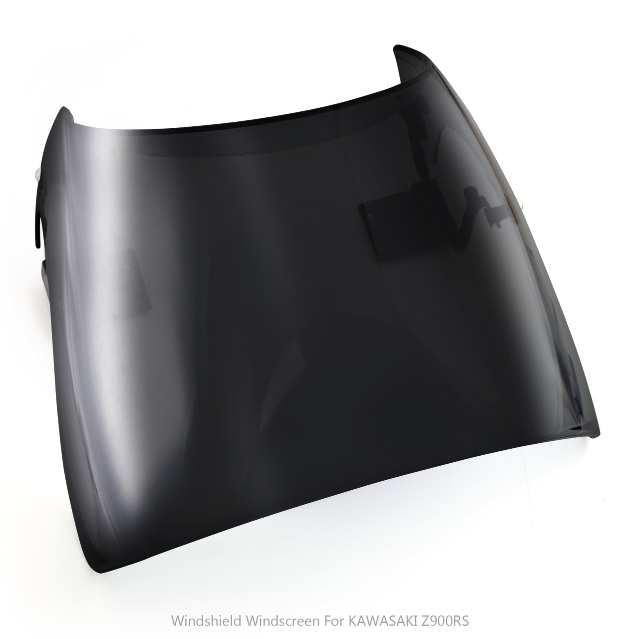 ABS Windscreen Windshield Cafe Racer Wind Protector for Kawasaki Z900RS 2018 Black
