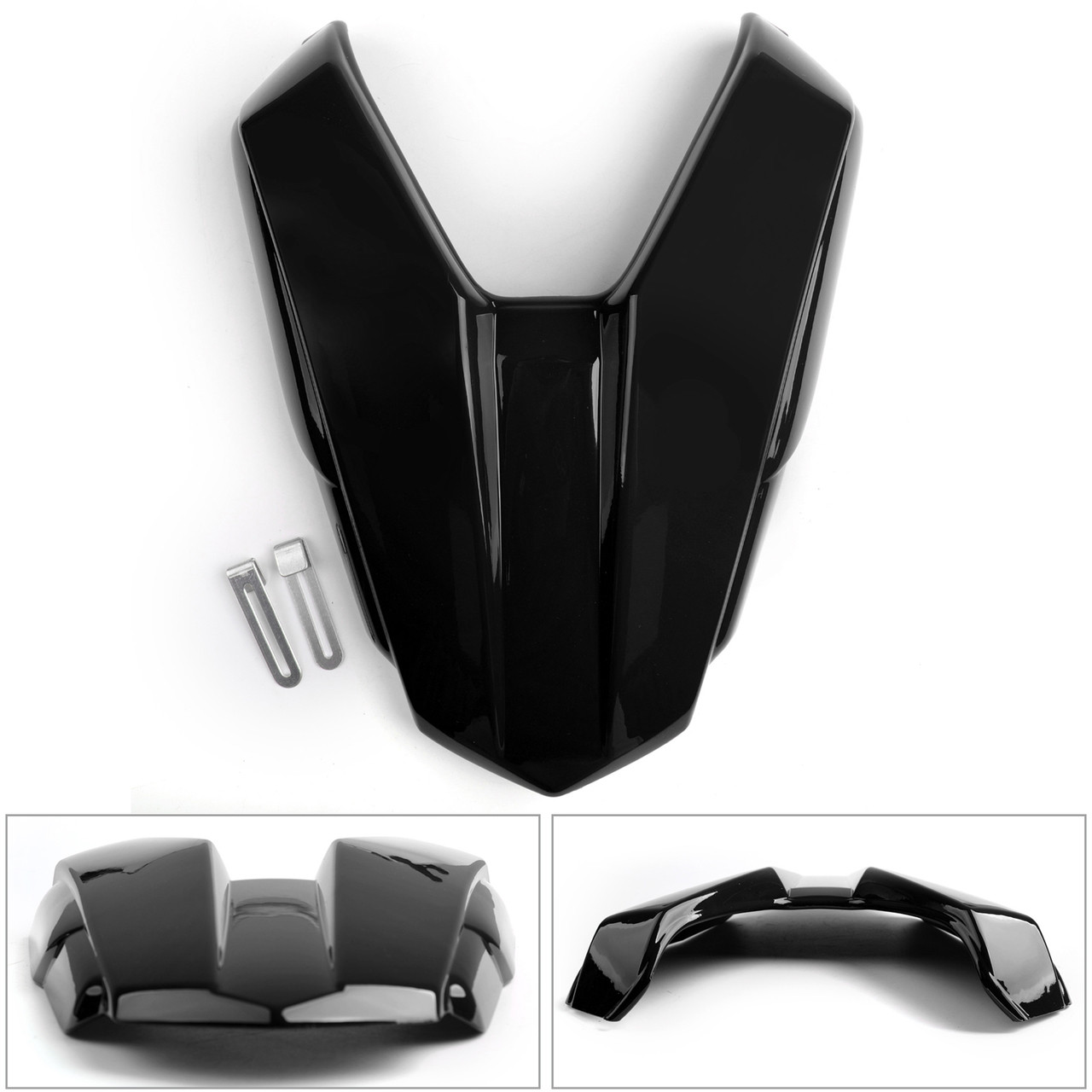 Rear Seat Passenger Cover Cowl Fairing For Honda CB500F 16-2018 CBR500R 2016-19 Black