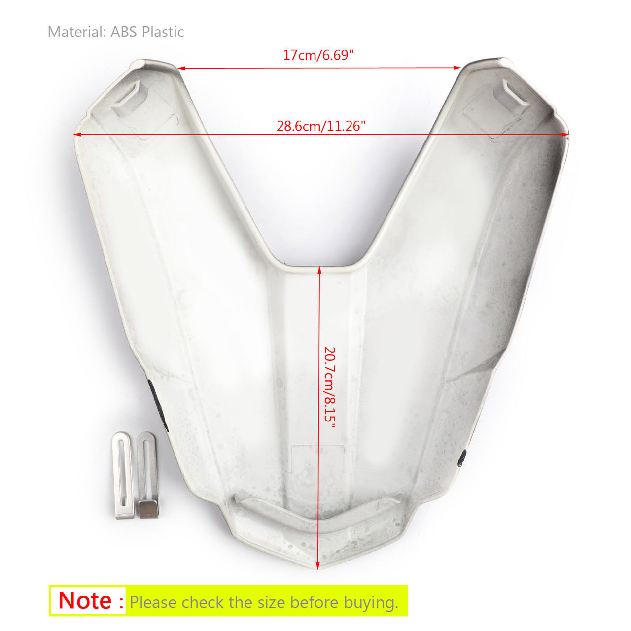Rear Seat Passenger Cover Cowl Fairing For Honda CB500F 16-2018 CBR500R 2016-19 Carbon