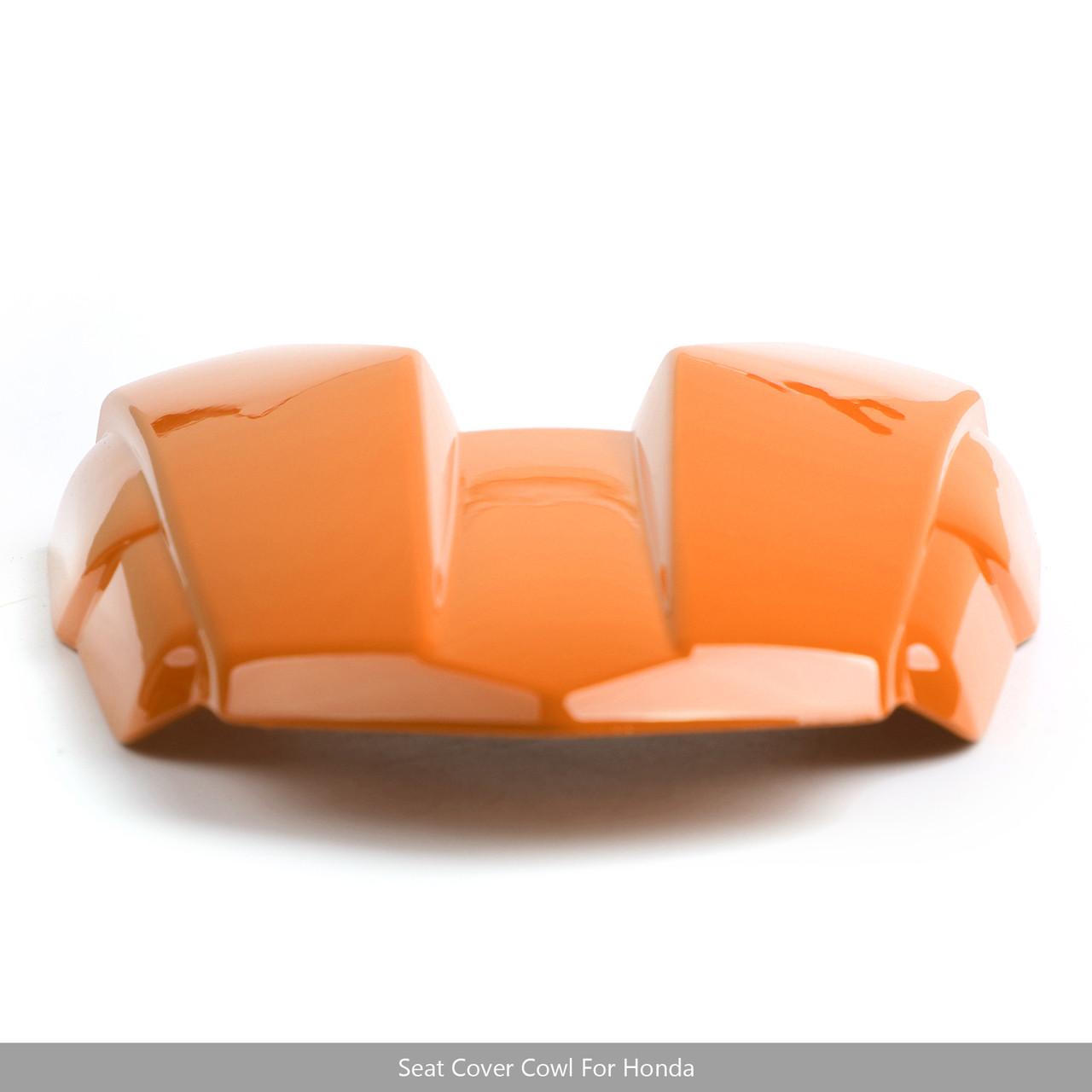 Rear Seat Cover Cowl Fairing Body Tail For Honda CB500F CBR500R 2016-2018 Orange