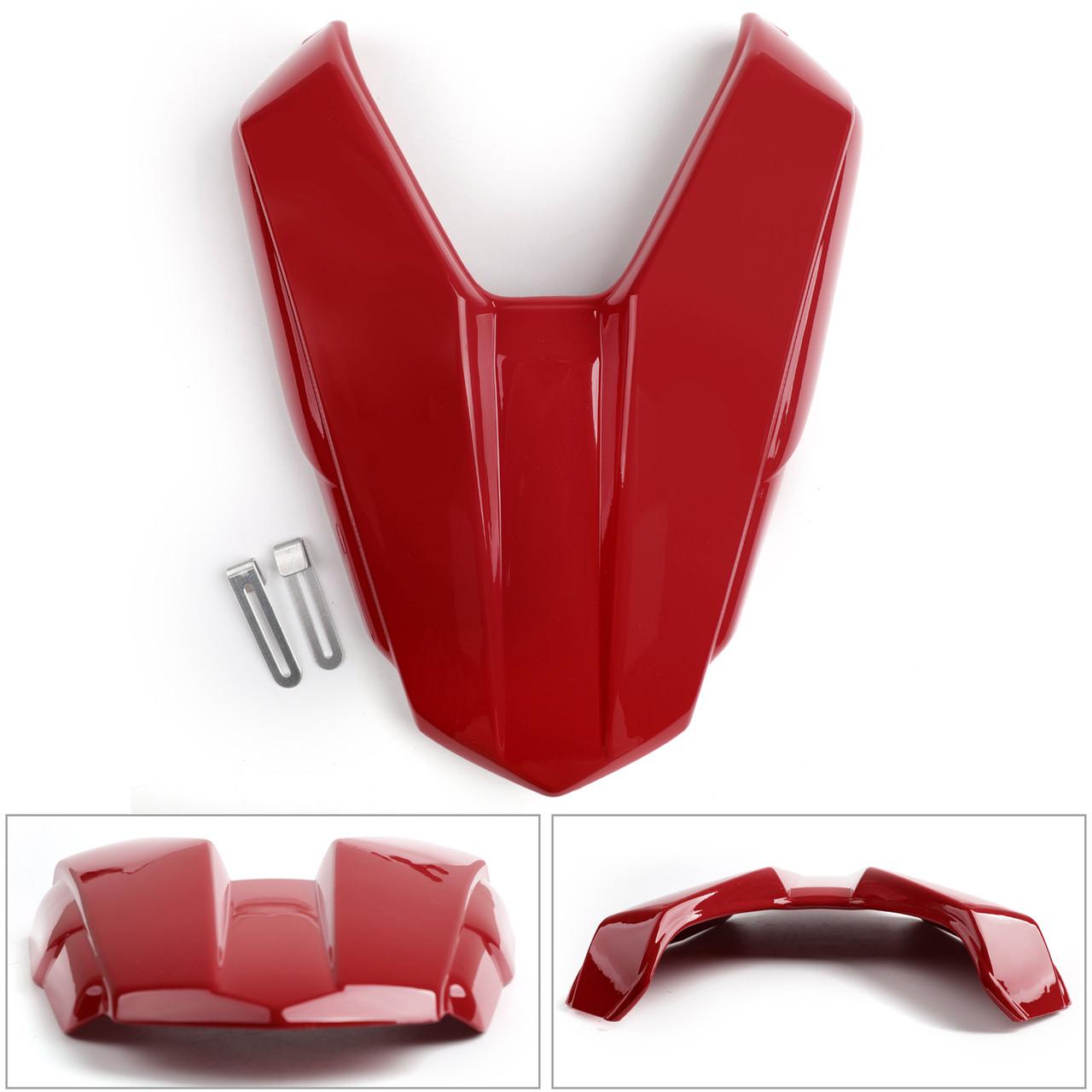 Rear Seat Passenger Cover Cowl Fairing For Honda CB500F 16-2018 CBR500R 2016-19 PearlRed