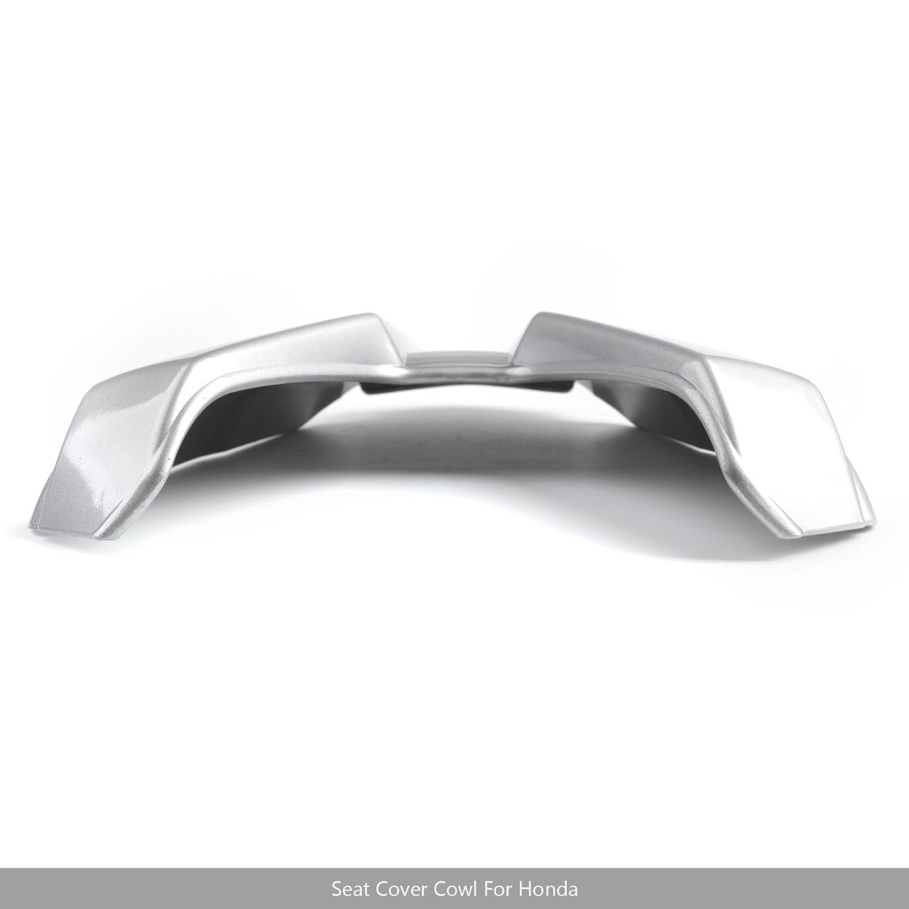 Rear Seat Passenger Cover Cowl Fairing For Honda CB500F 16-2018 CBR500R 2016-19 Silver