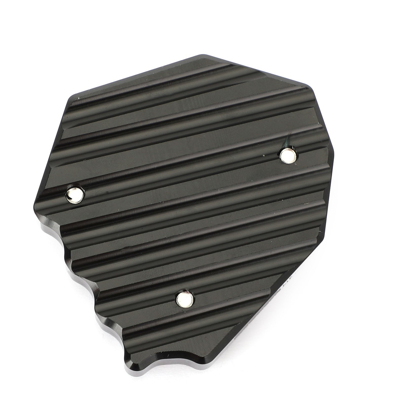 CNC Kickstand Sidestand Stand extension enlarger pad For BMW S1000XR 2015-2017 Black