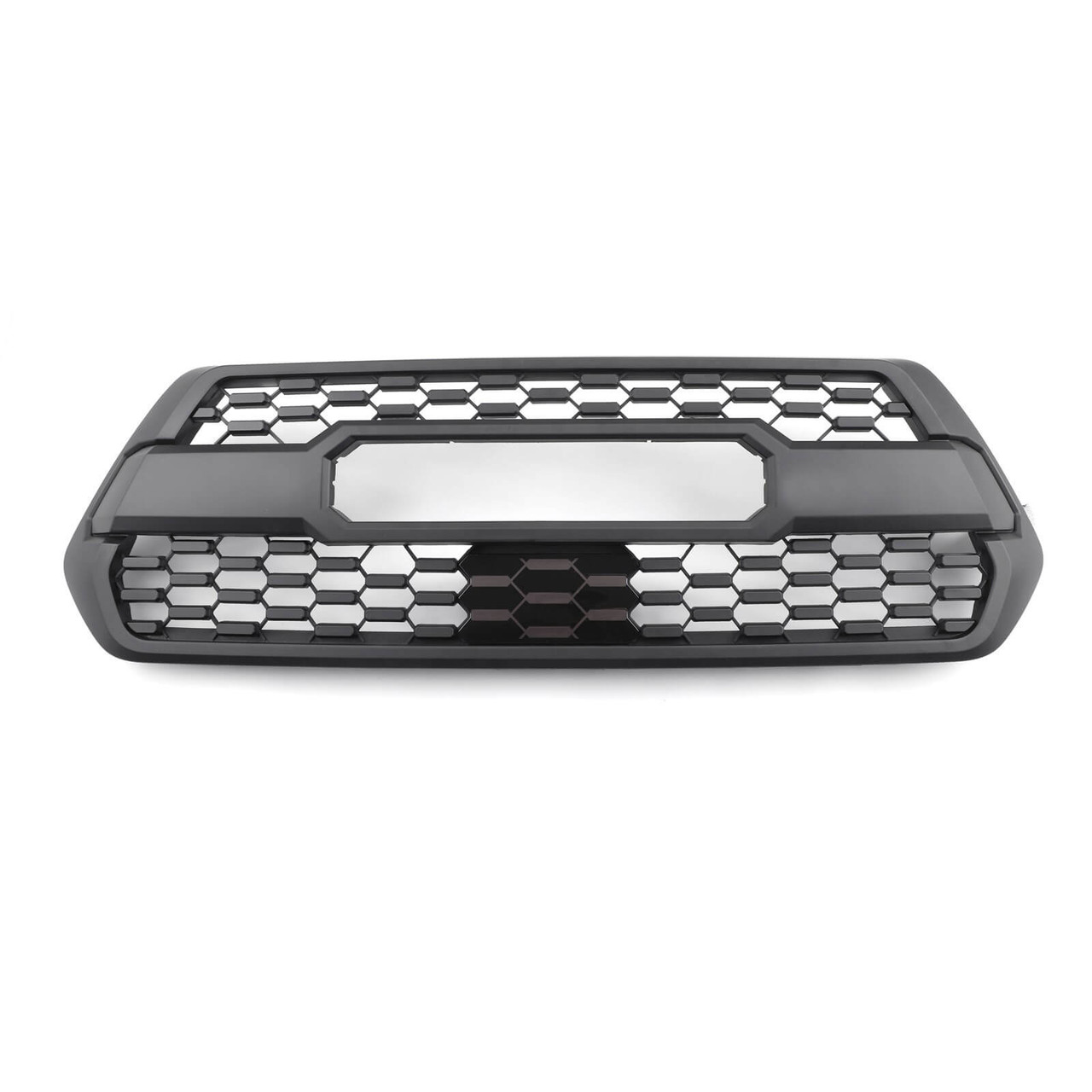 TRD Pro Grille with ACC DRCC Garnish Sensor Cover for Tacoma 2017-2019