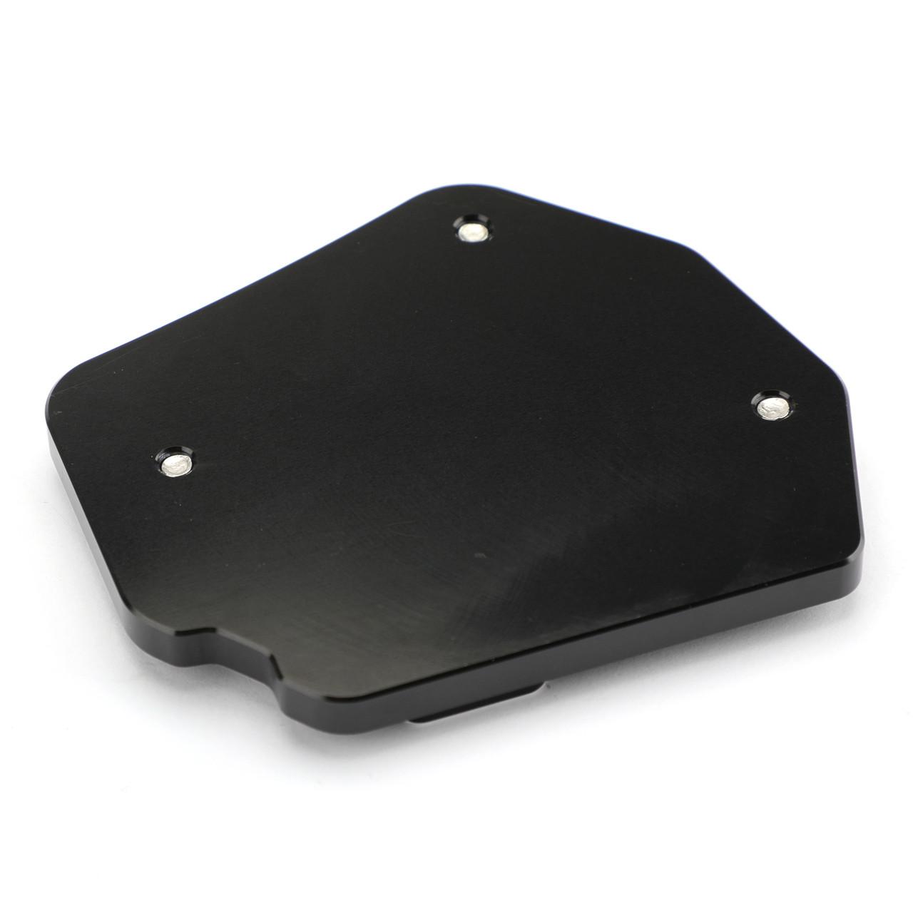 Sidestand Plate Kickstand Extension Pad CNC Aluminium For BMW F800GS 08-16 Black