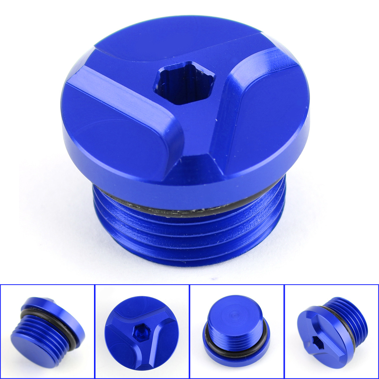 Aluminum Engine Oil Filler Cap For BMW S1000R 14-18 S1000XR 15-18 G310GS 17-18 Blue