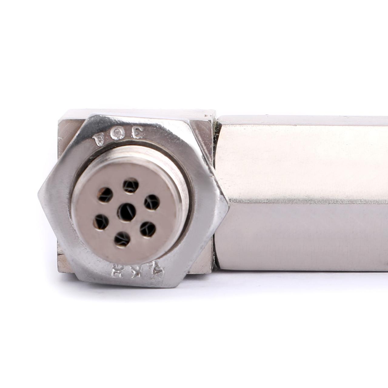 90 O2 Oxygen Sensor Spacer Engine Light Check Bung Mini Catalytic Converter