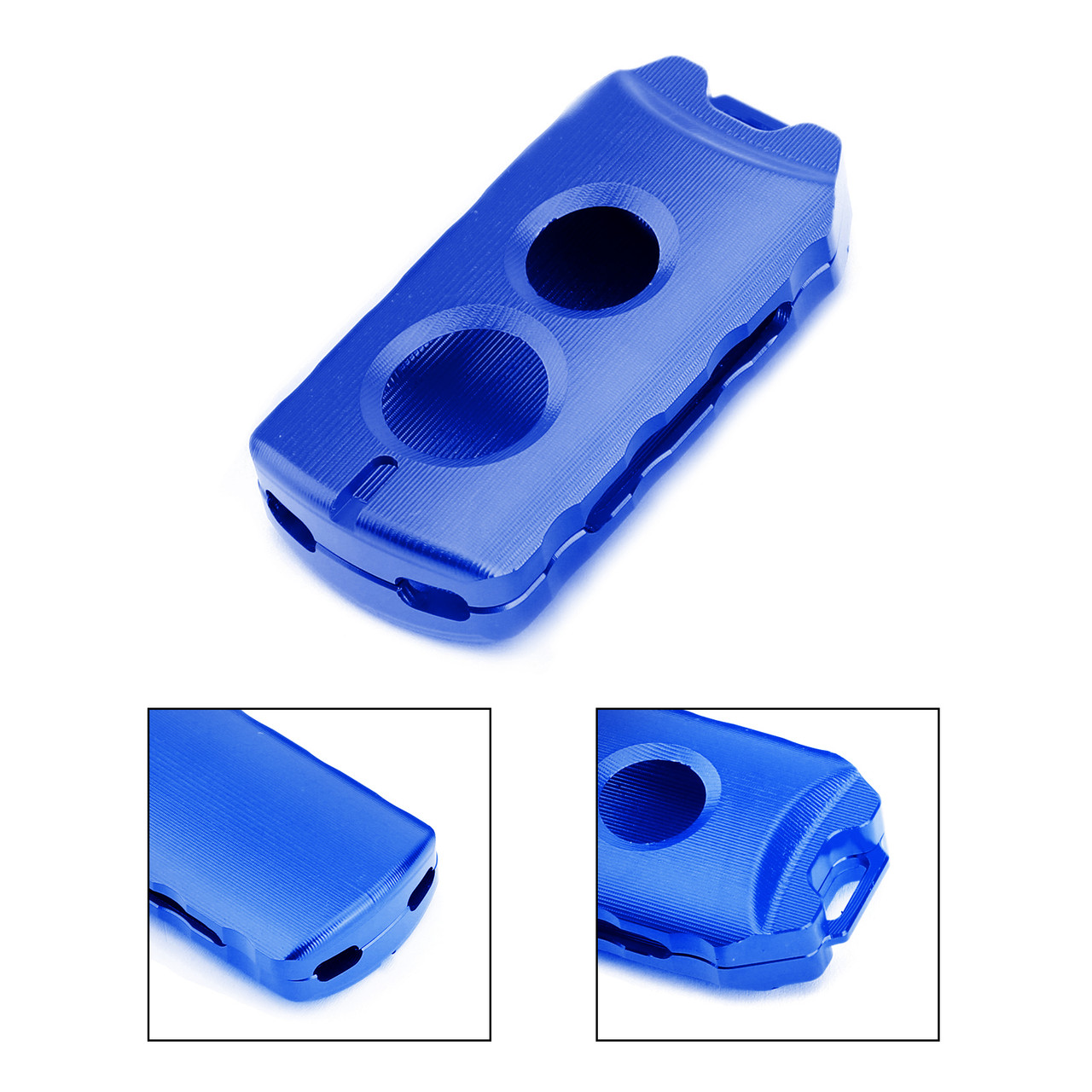 Key Case Cover Holder Protector For Yamaha NVX 155 AEROX 155 15-19 XMAX 125/250/300/400 17-19 Blue
