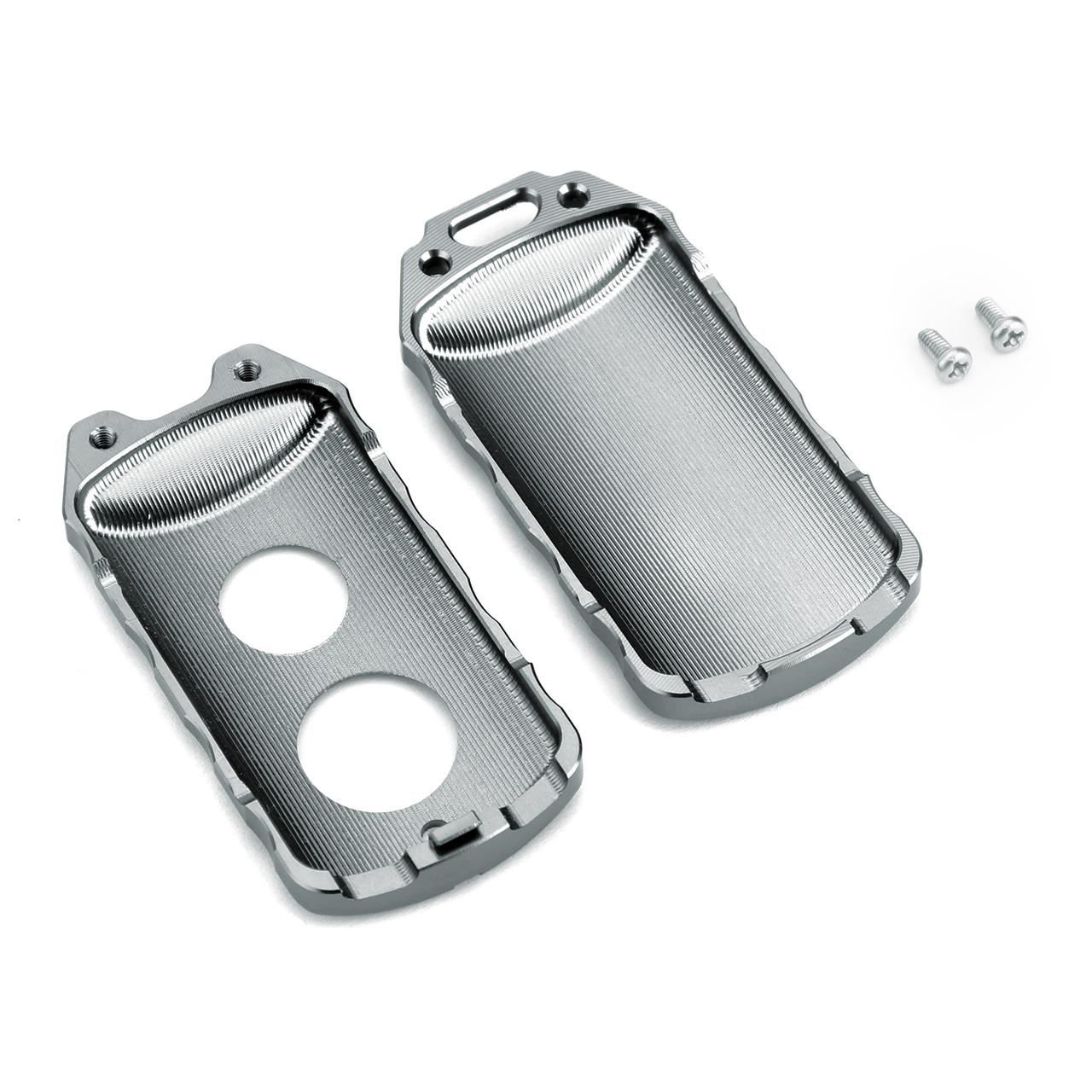 Key Case Cover Holder Protector For Yamaha NVX 155 AEROX 155 15-19 XMAX 125/250/300/400 17-19 Titanium
