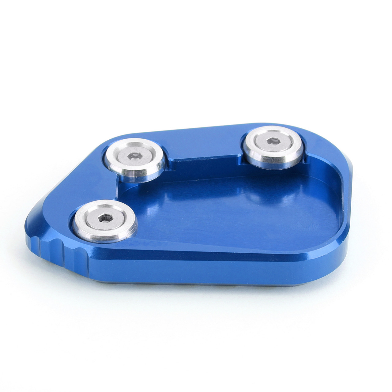 Kickstand Side Stand Extension Enlarger Pad For Honda CBR250RR 17-18 Blue