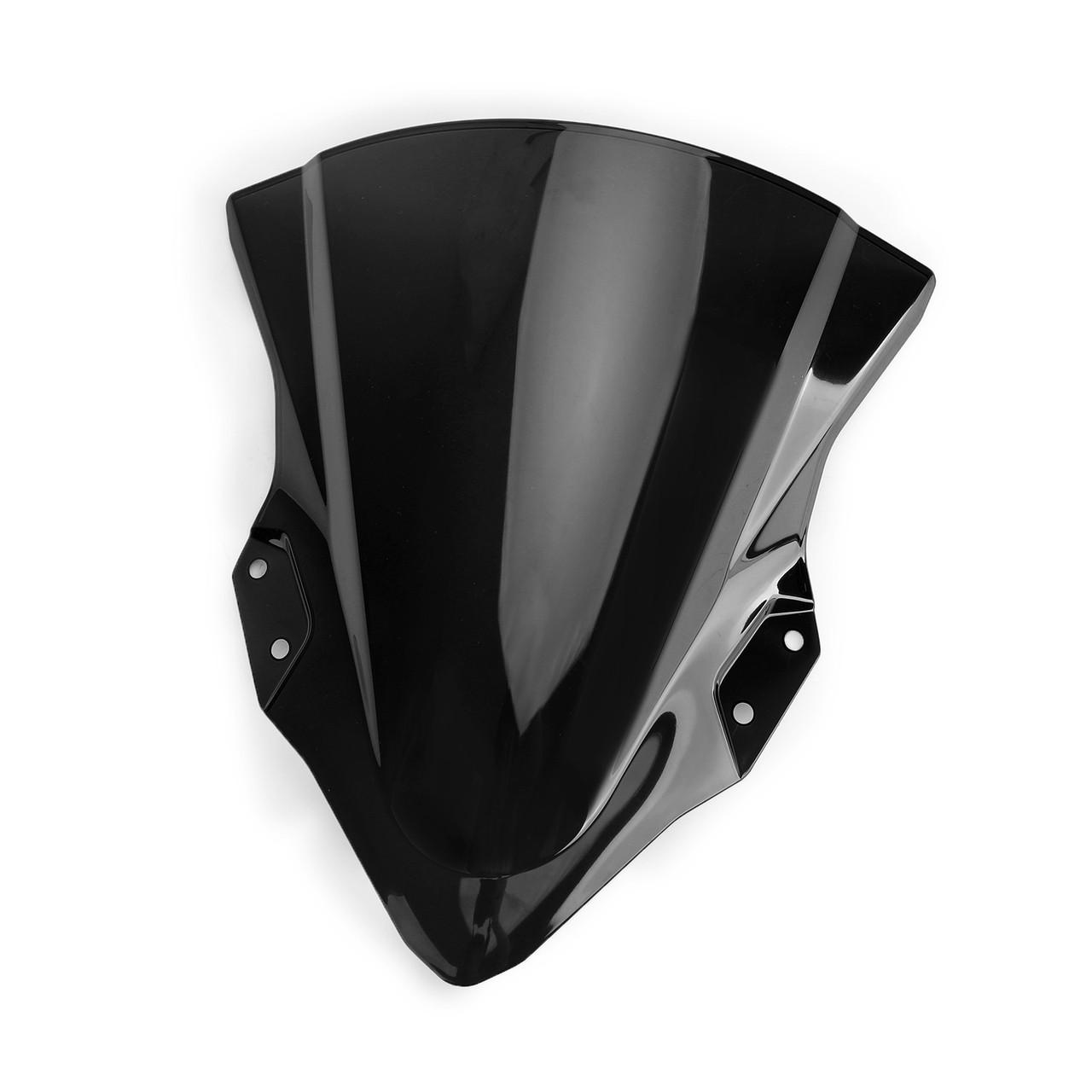 ABS Plastic Windshield Windscreen For Kawasaki 2018-2019 Ninja 400 Black