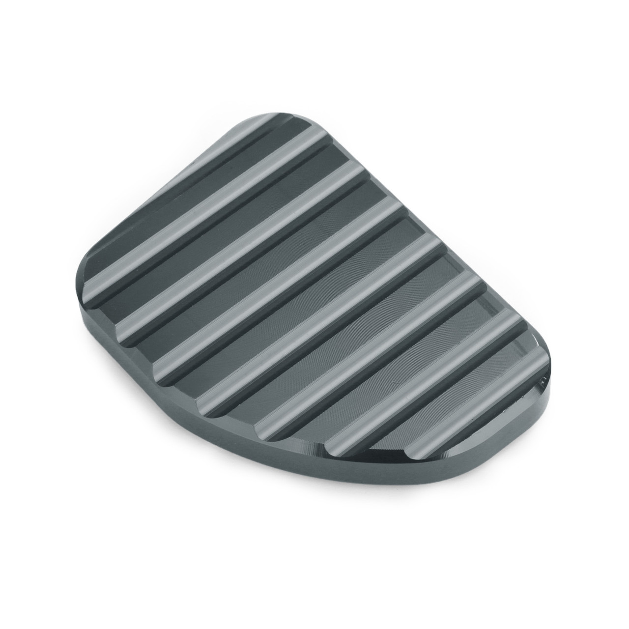 Kickstand Sidestand Extension Foot Plate Pad For Honda GoldWing GL1800 2010-2017 Titanium