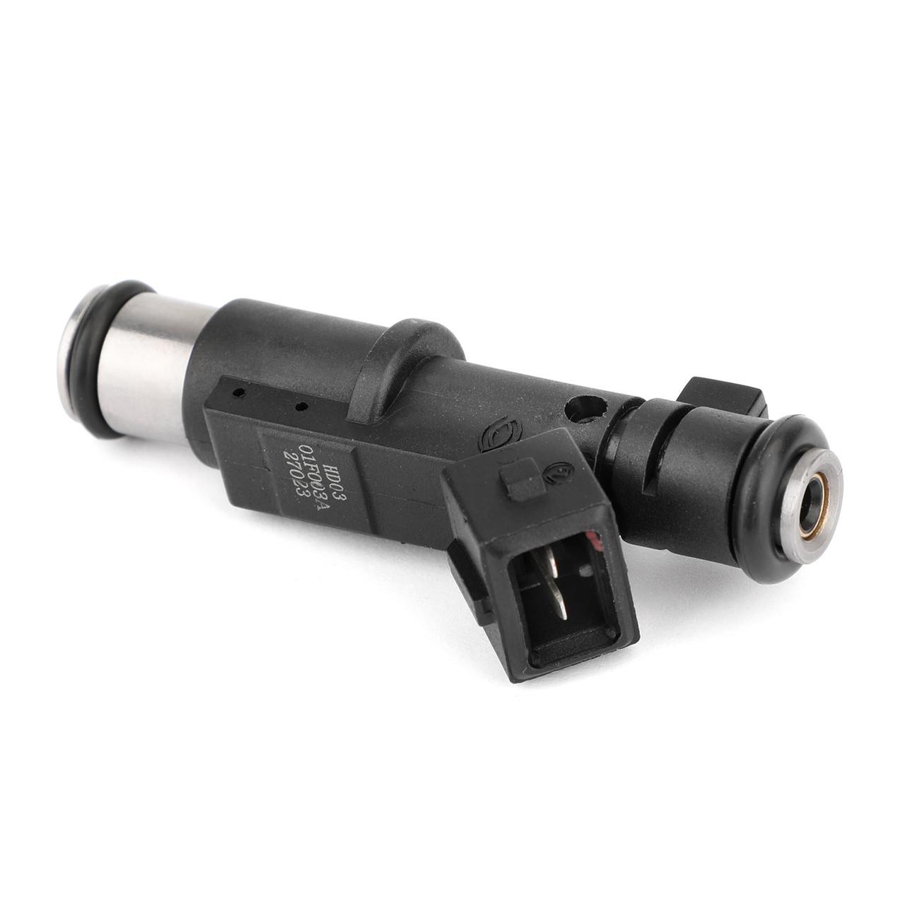 4Pcs Genuine Petrol Fuel Injector For Citroen C5 C4 C8 DISPATCH JUMPY SYNERGIE XSARA Black