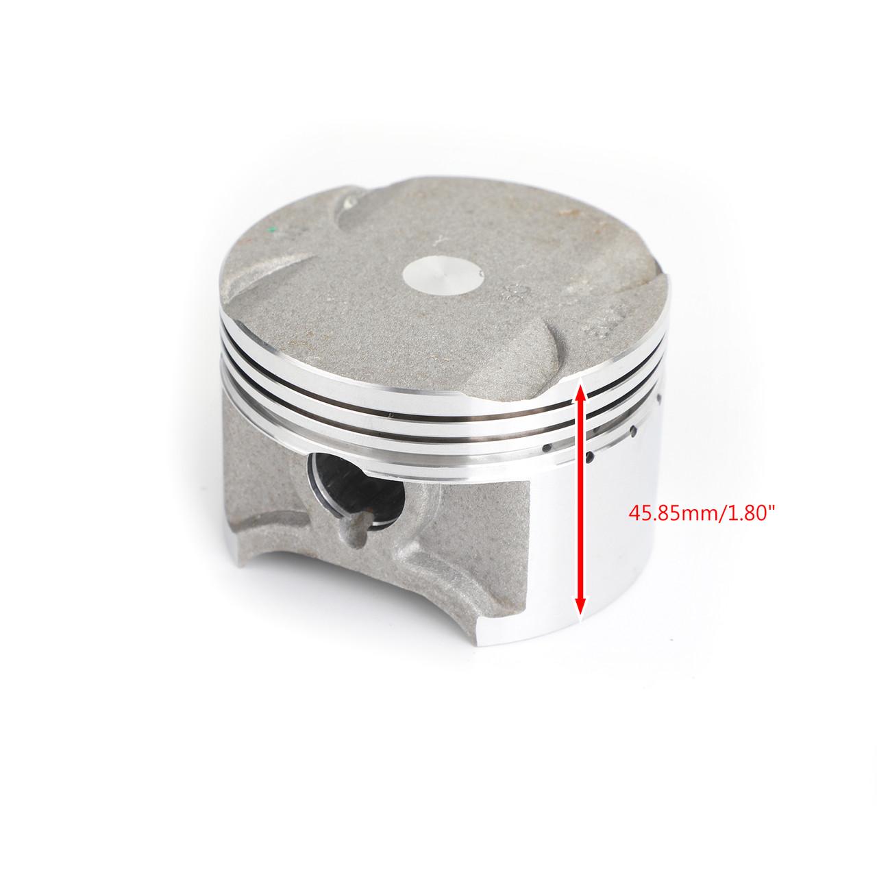 Piston Pin Ring Kit Bore Size ?71.00mm For Honda NX250 AX-1 88-93 NX250 2 90 93