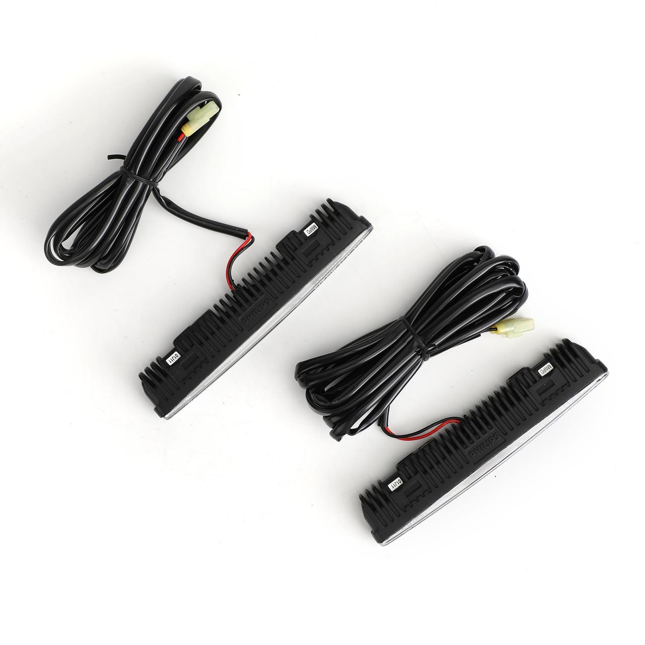 PHILIPS Luxeon LED DayLight 8 Daytime Running Light DRL Light lamp 12824 12V