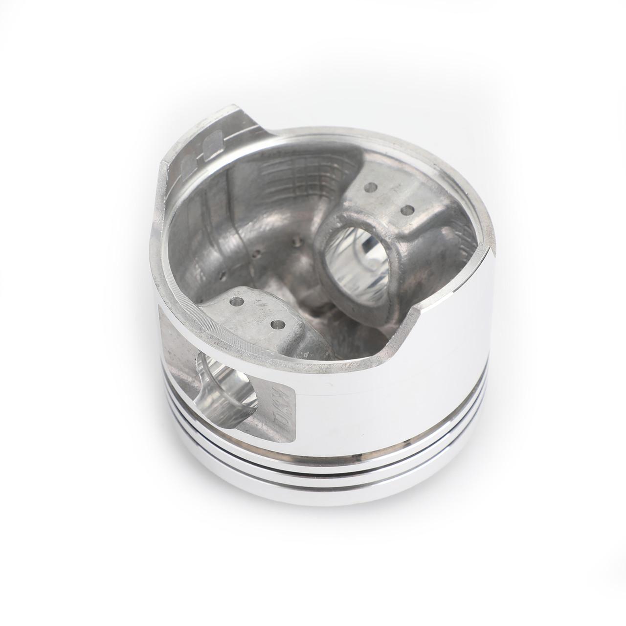 Piston Rings Pin Clips Kit 64.50mm For Honda VRX400T (NC33) 1996 NV400 CJ/CK Steed 400 92-93 NV400 CS/CV Steed 400 95-97 NT400 Bros 400 (NC25) 88-92