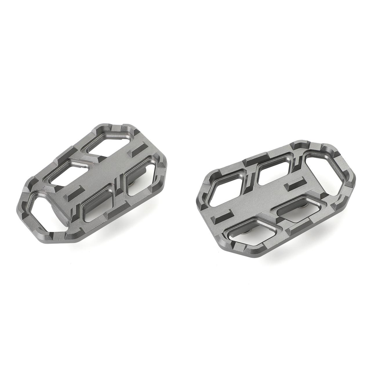 Foot Pedals Footpegs For BMW G310GS 17-19 S1000XR 15-19 BMW R1200GS (Adv.)13-19 Titanium