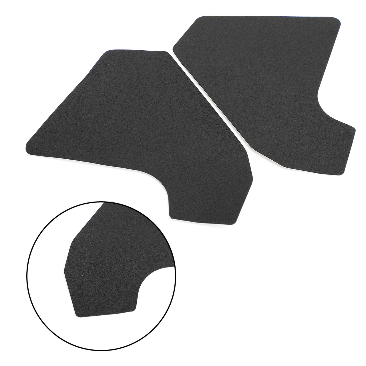 Tank Traction Pad Side Gas Knee Grip Protector for Honda CRF250 RALLY 17-19 Black