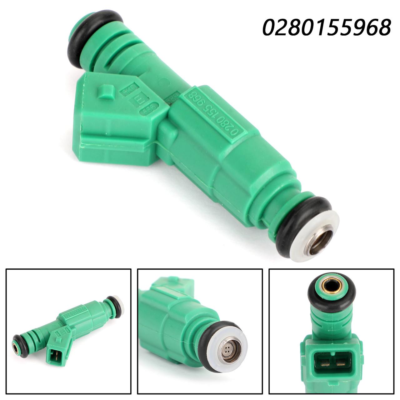 1PCS Fuel Injectors For BMW 318i 92-98 318is 92-96 318ti 95-99 M3 88-91 Z3 96-98 Green