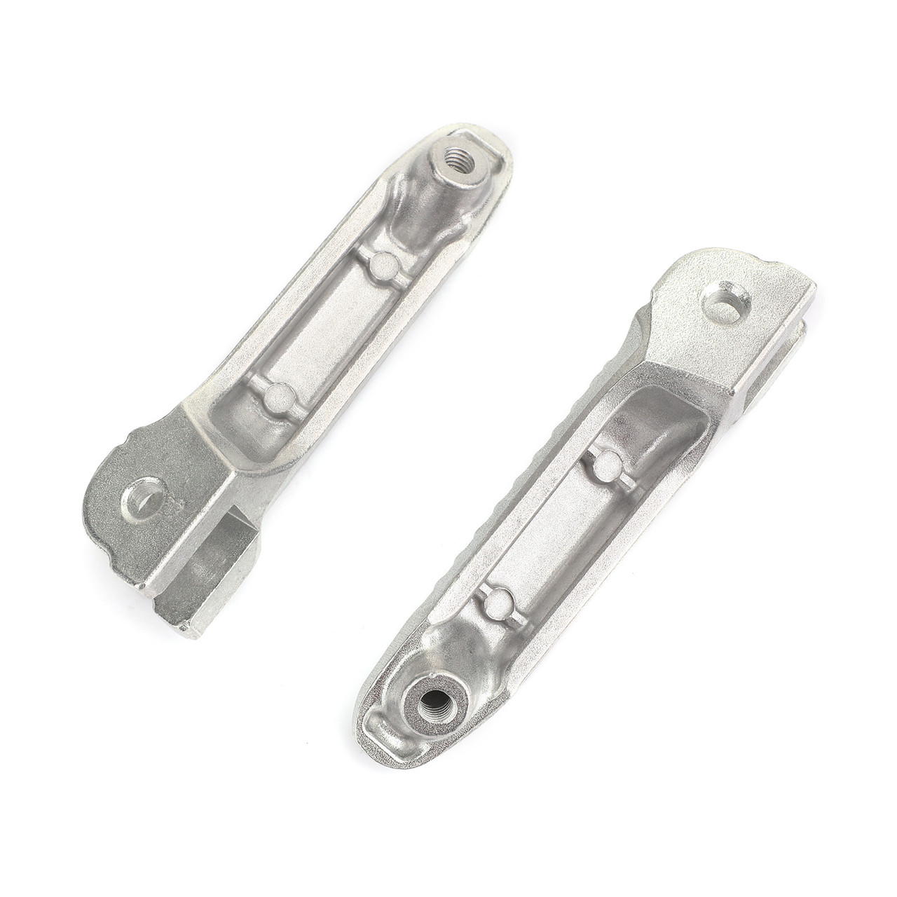Front Footrests Foot Peg for BMW S1000RR K46 08-19 S1000R K47 13-19 R nineT Racer K32 15-19 HP4 K42 11-14 Silver