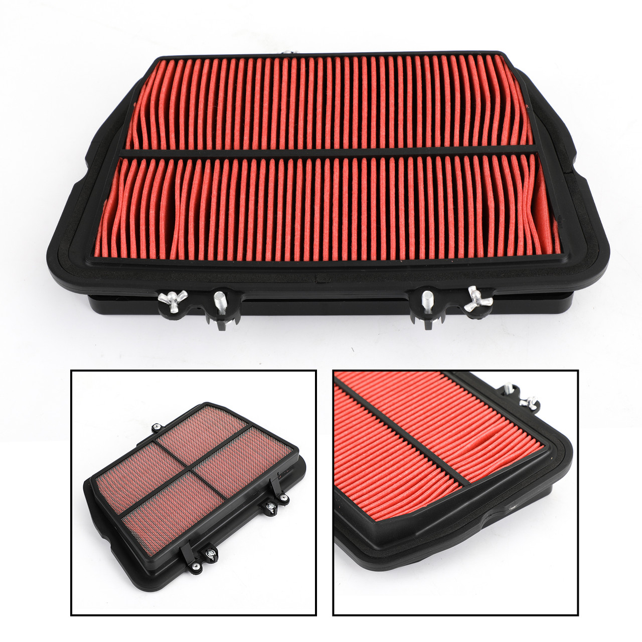 Air Filter Element for Triumph Tiger 800 10-16 XC 10-18 XCA XRT 16-19 XCX XR XRX 15-19 Red