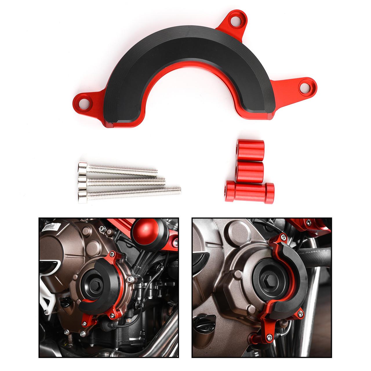 Right Engine Stator Slider Crash Pad Protector for Honda CB650R 19-21 CB650F 14-21 RED