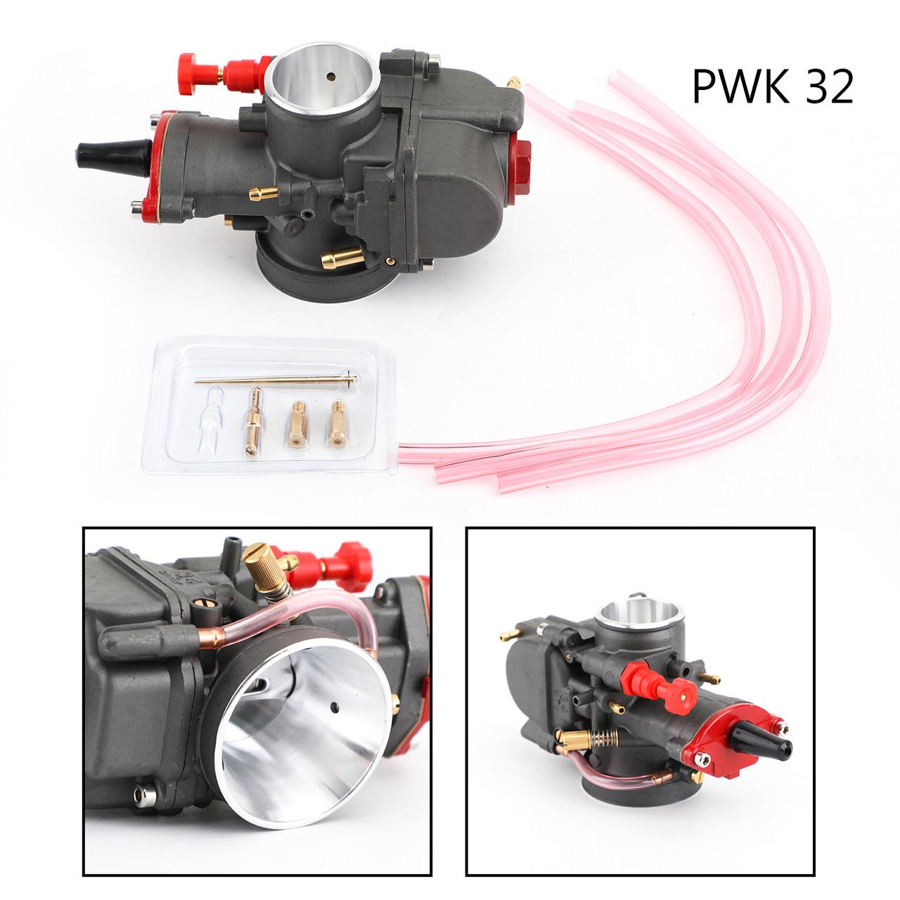 Super Performance KOSO OKO PWK 32mm Power Jet Carburetor Carb For Dirt Bike ATV Black