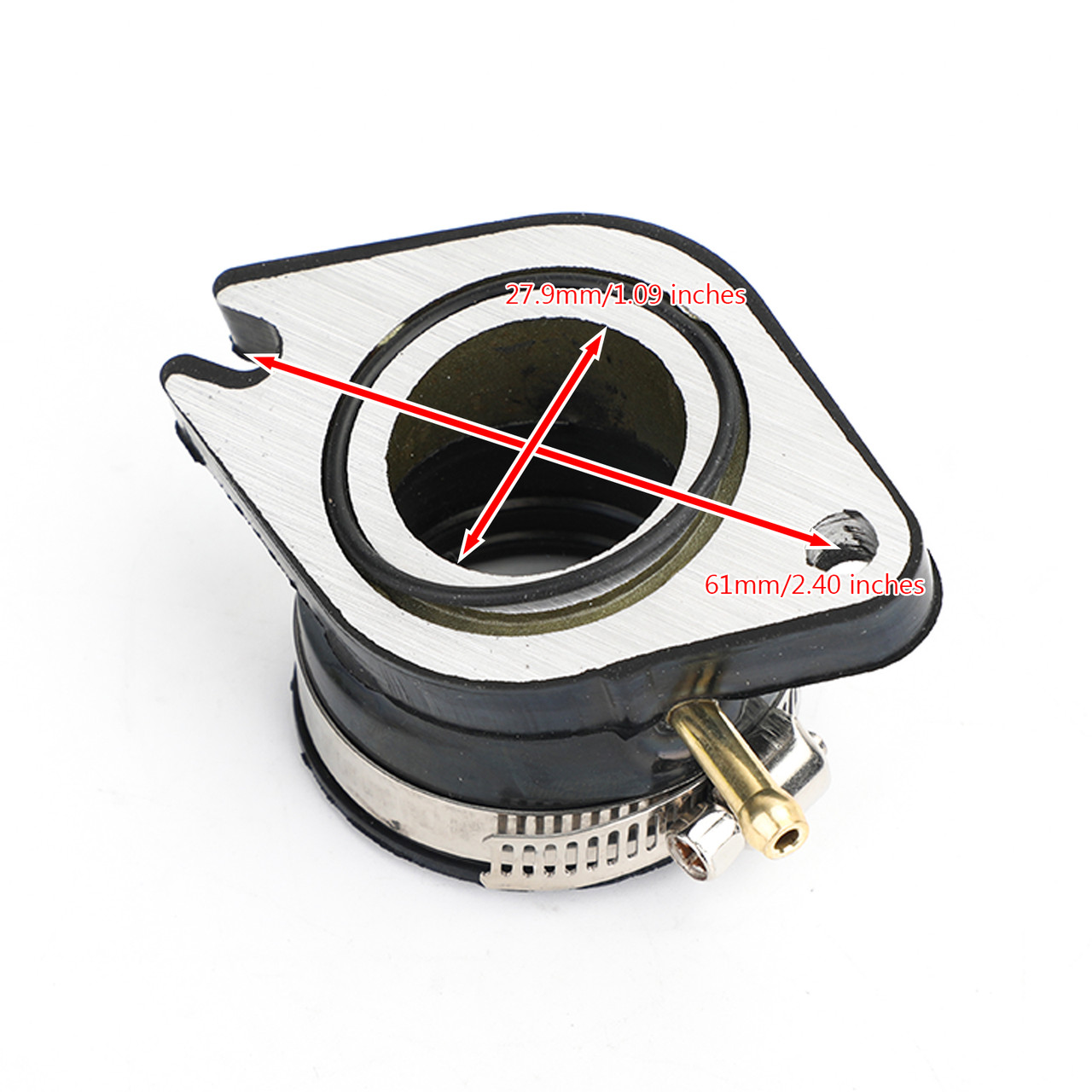 Carburetor Intake Manifold Boot Flange for Yamaha TTR230 2005-2015 1C6-E3586-00