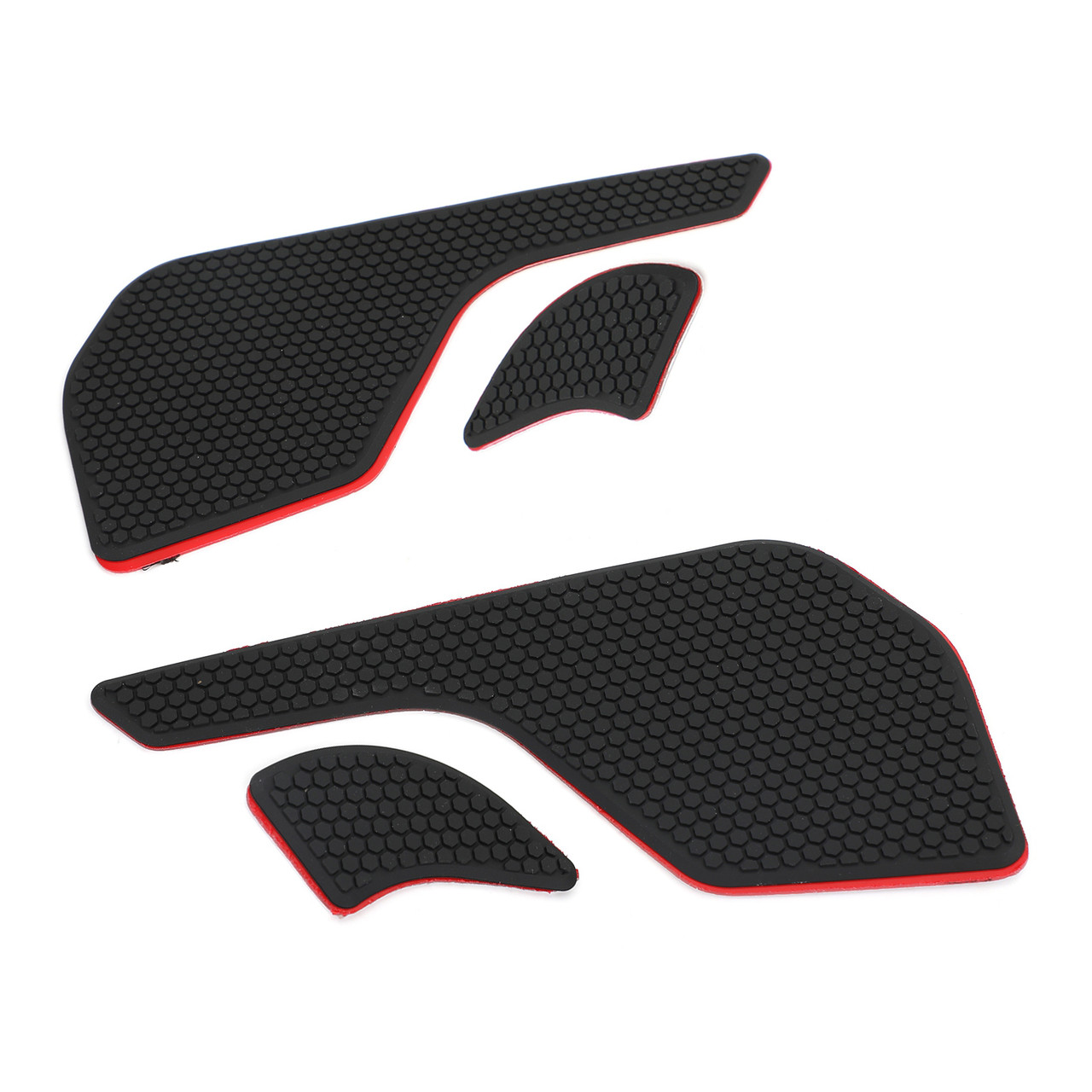 Tank Traction Pad Side Gas Knee Grip Protector Fit For Triumph Tiger 800 XR/XRX/XRT 15-19 Black