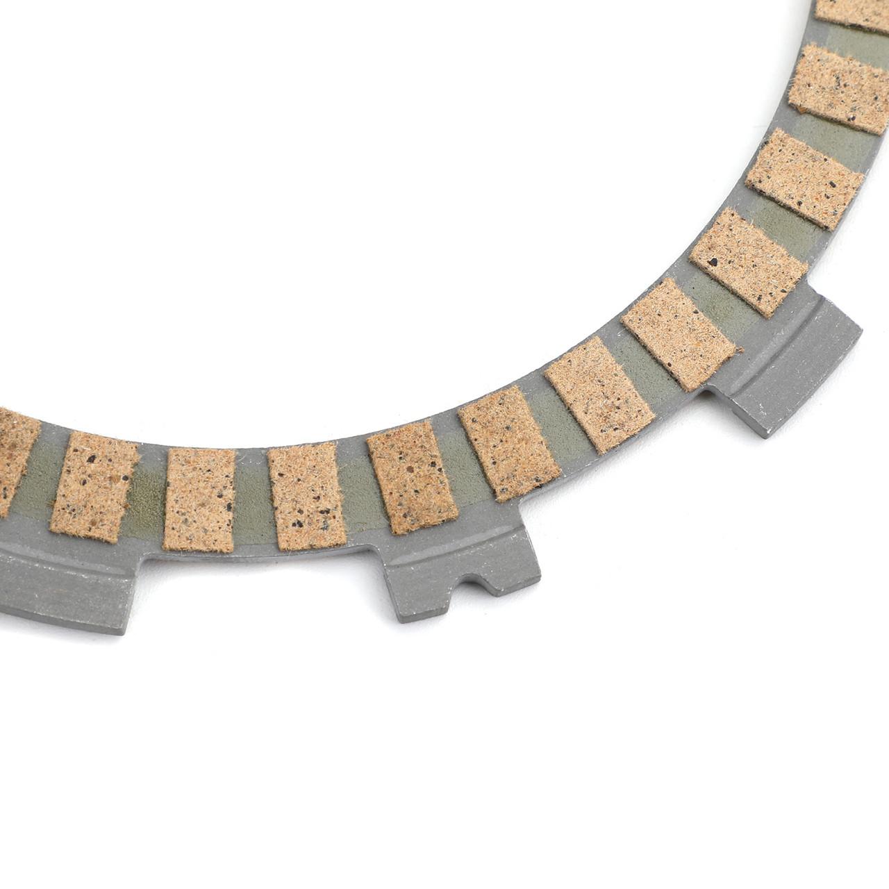 Clutch Plate Kit Fit For Suzuki RM80 B/C/N/XT/XX 78-81 XE/XF/HF 84-85 RM85 K2/LK2/K3/LK3/K4/LK4 00-04 RM85 RM85L 03-15