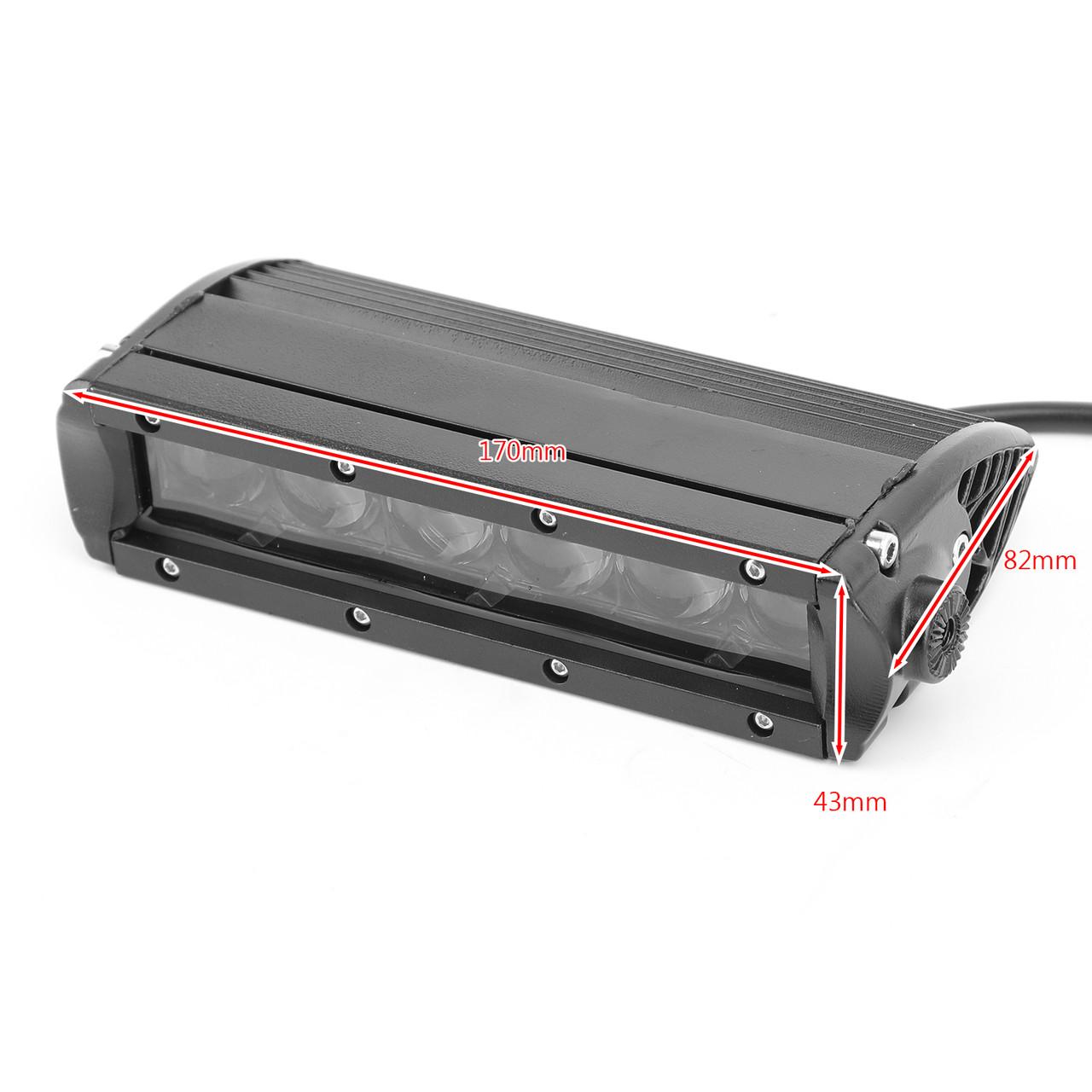 LED Motorcycle Headlight Fog Light Aluminum Fit For Honda MSX125 Grom 13-15 MSX125SF Grom 16-19 White