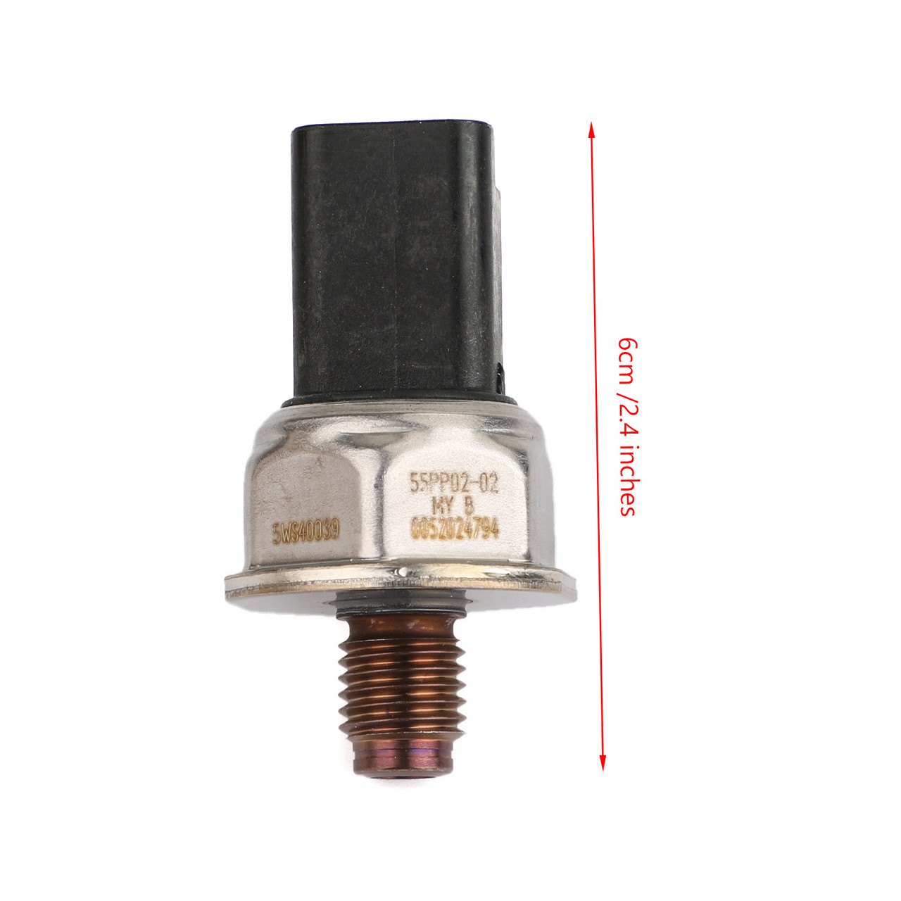 Fuel Rail Pressure Sensor Fits For Ford Oeugeot Citroen Volvo 2.0