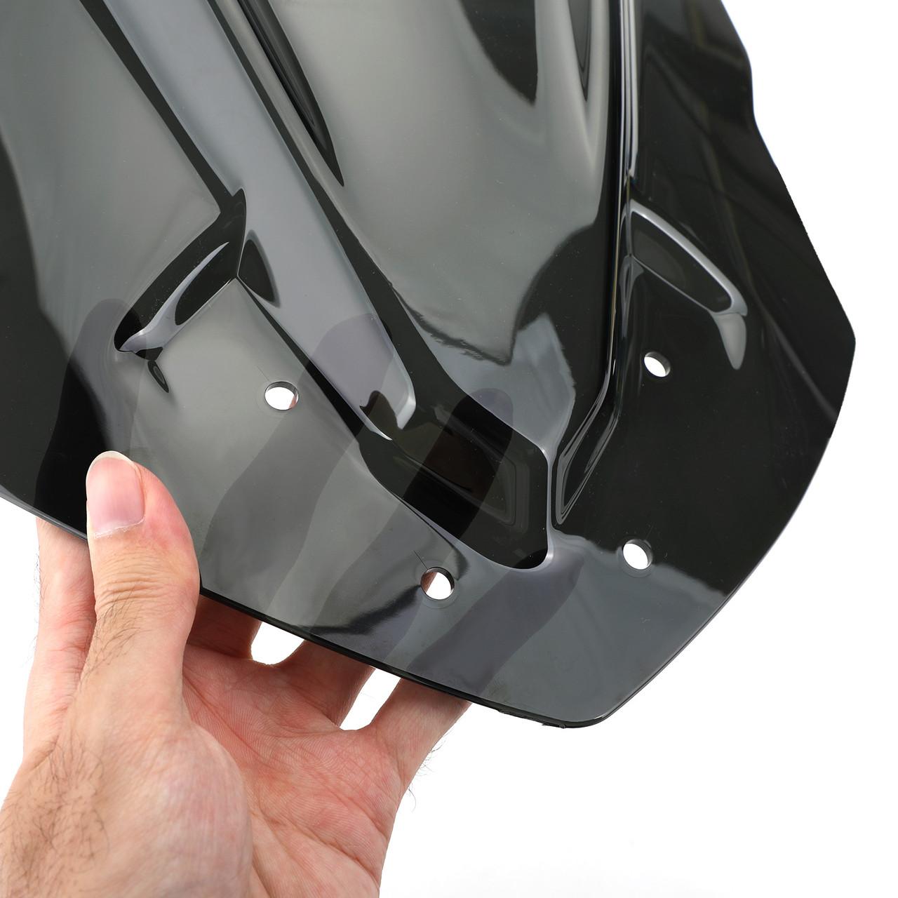 ABS Plastic Windshield Windscreen Fit For Yamaha MT125 15-19 Black