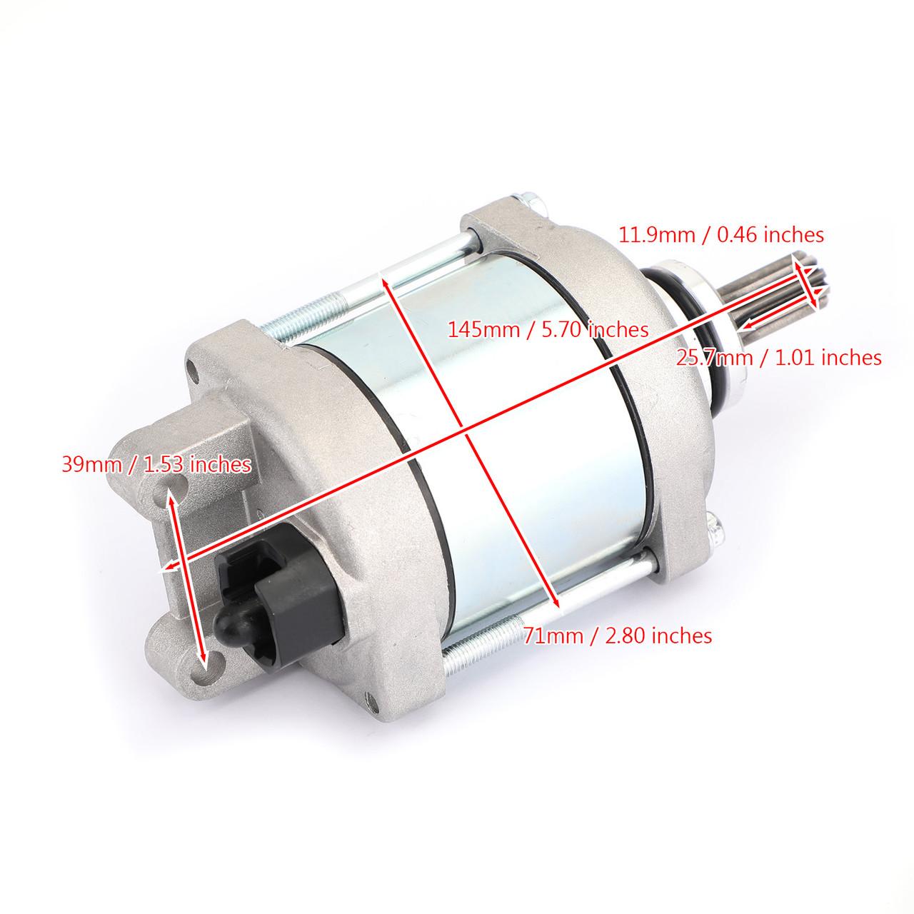 STARTER Motor Engine Starting 9-Spline Fit For Husqvarna FC450 FS450 15 FE450 FE501 14-16 FR450 RALLY 17