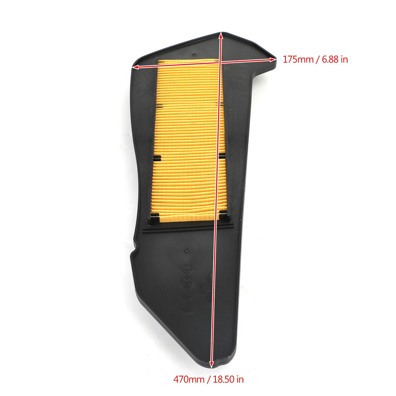 Air Filter Cleaner Element Replacement Fit for Yamaha CZD300 X-Max YP300 XMax300 YP250 XMax250 MBK Evolis 300 17-20