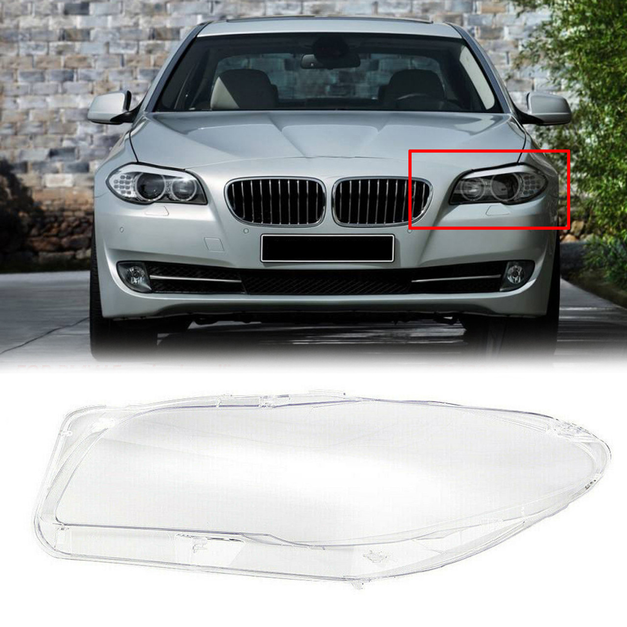 Headlight cover Fit For BMW F10/F18 10-14