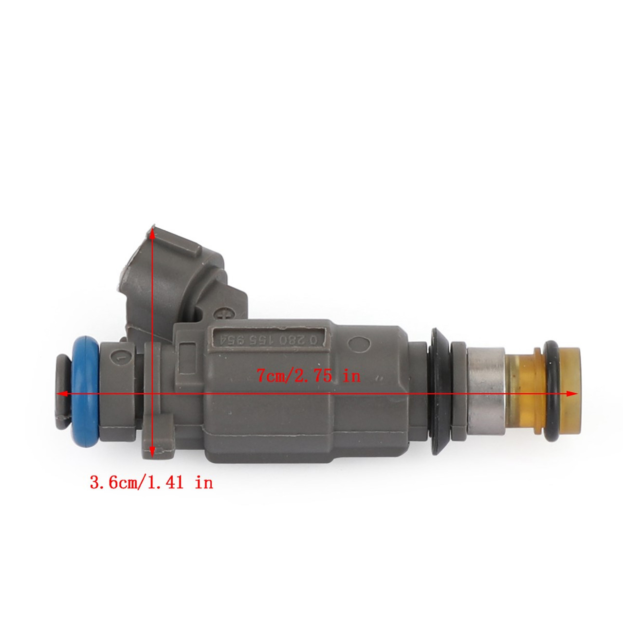 4PCS Fuel Injectors Fit For Subaru Baja 03-06 Legacy Outback 00-04 Brown FBLC-100 16611-AA43A