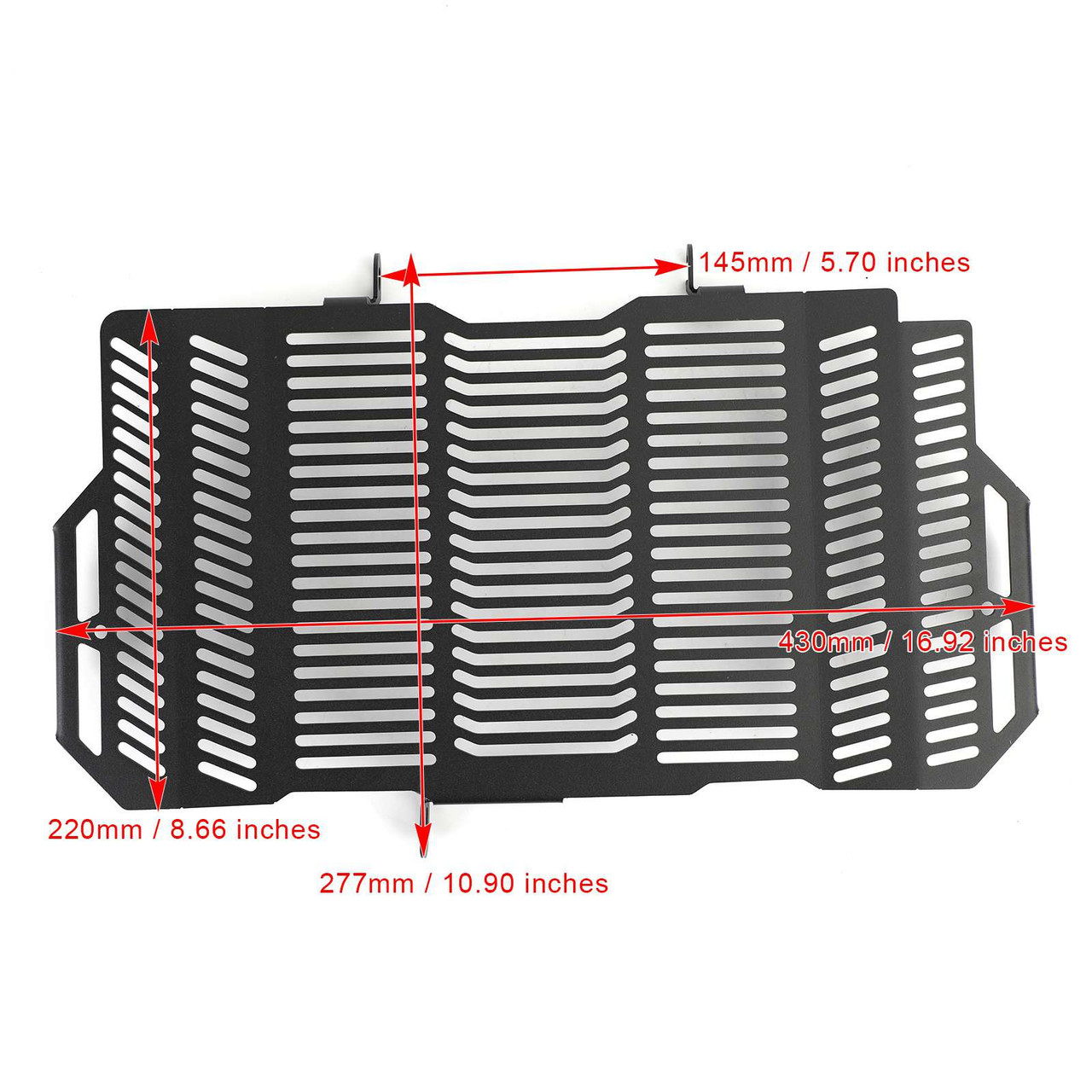 Stainless Steel Radiator Guard Protector Grill Cover Fit For Honda CB650R Neo Sports Cafe CBR650R 19-21 Black