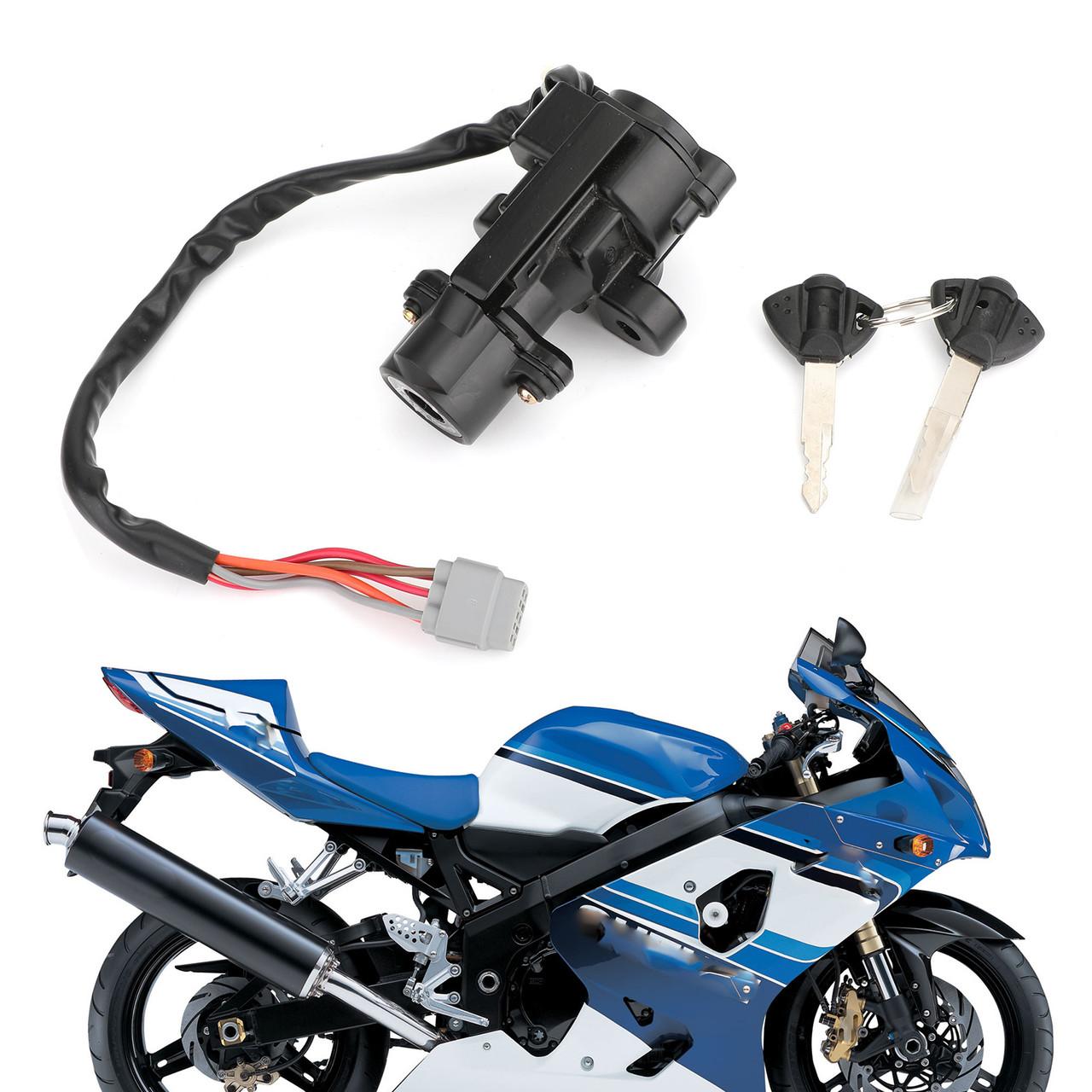 Ignition Switch Lock Keys Kit Fit for Fit for Suzuki GSXR600 GSXR750 06-18 GSXR1000 05-18