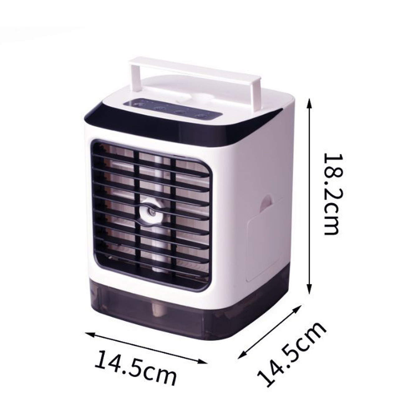 Evaporative Portable Air Conditioner Cooler Fan Humidifier Mini Air Cooling Fan