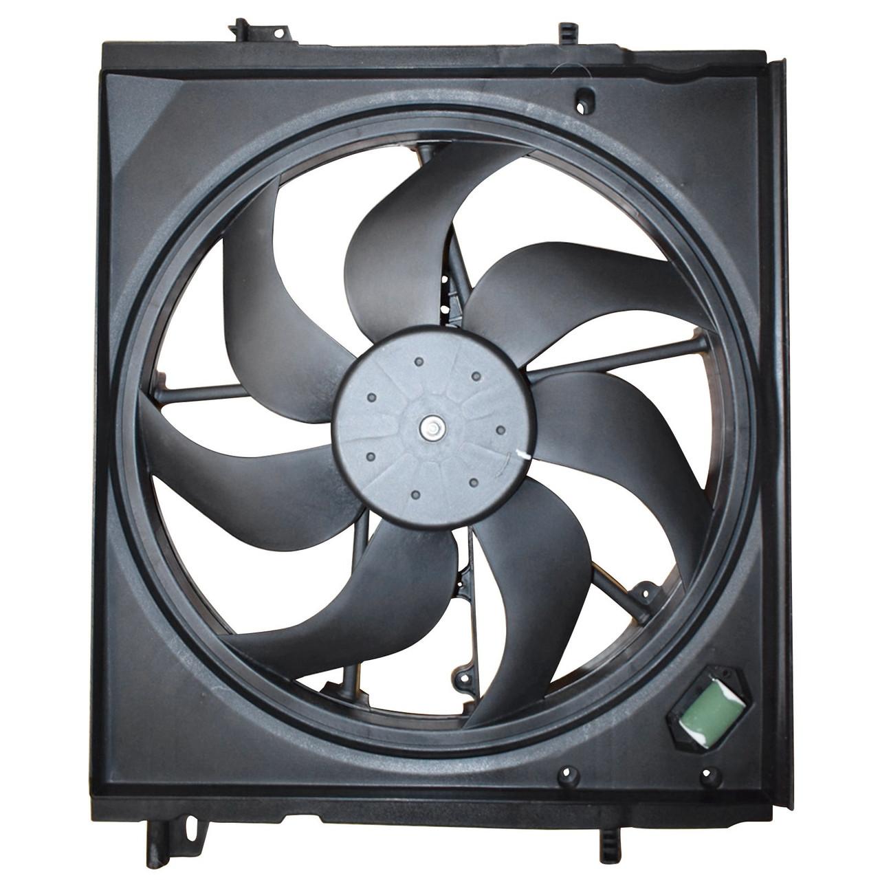 Nissan Rogue Sport 2.0L 2017-2019 Radiator Cooling Fan Assembly NI3115162 Generic