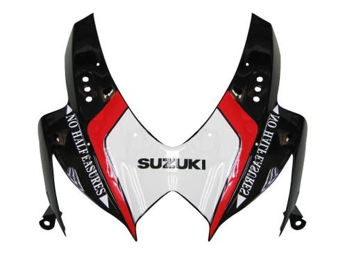 Fairings Suzuki GSXR 600 750 Black Relentless Racing  (2008-2009)