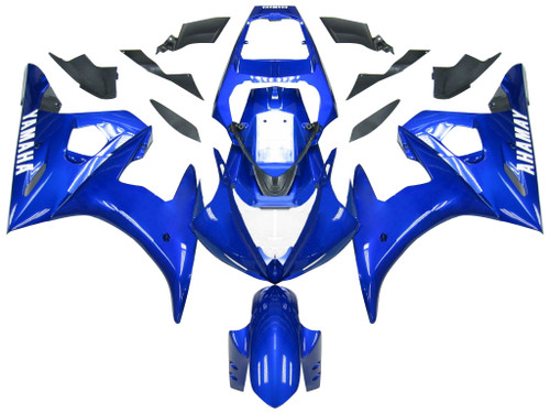 Fairings Yamaha YZF-R6 Blue R6 Racing (2003-2005)