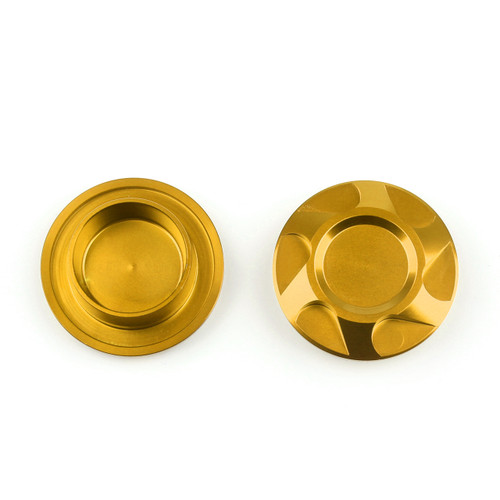 CNC Motorcycle Frame Hole Cover Cap Yamaha YZF R3 (15-16) R25 (13-15) Gold