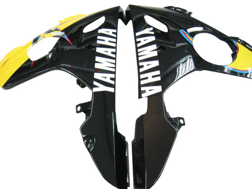 Fairings Yamaha YZF-R6 Black & Yellow No.46  R6 Racing (2003-2005)