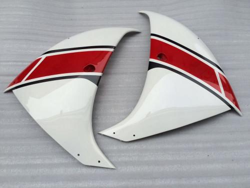 Fairings Yamaha YZF-R1 White Red Black Racing (2009-2012)
