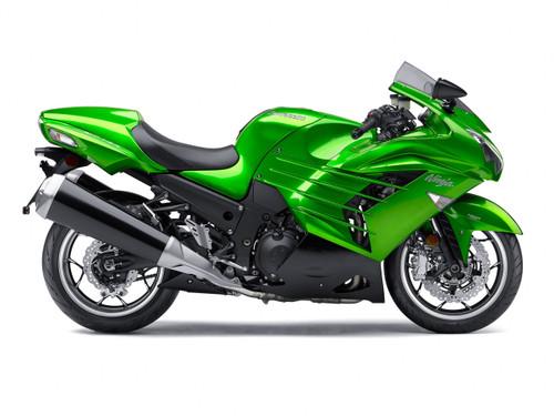 Fairings Plastics Kawasaki ZX14R Ninja Green Racing (2012-2016)