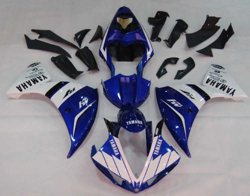Fairings Yamaha YZF-R1 Blue White R1 Racing (2009-2012)