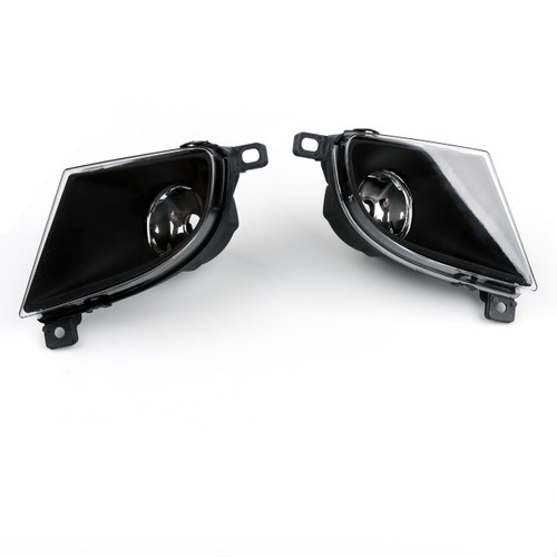 Pair Fog Light Driving Lamp Housing BMW 5 Series E60 528i 528xi xDrive 535i 535xi 535i xDrive 550i (08-10)